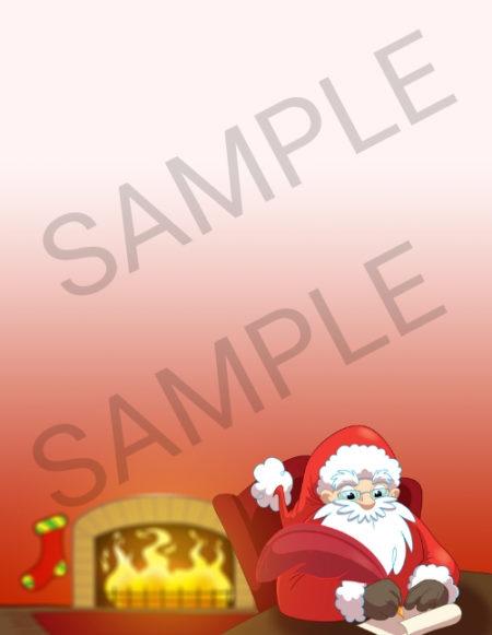 Santa Writing a Letter - Letter From Santa